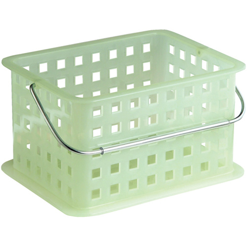 stackable plastic storage baskets small in plastic baskets. Black Bedroom Furniture Sets. Home Design Ideas
