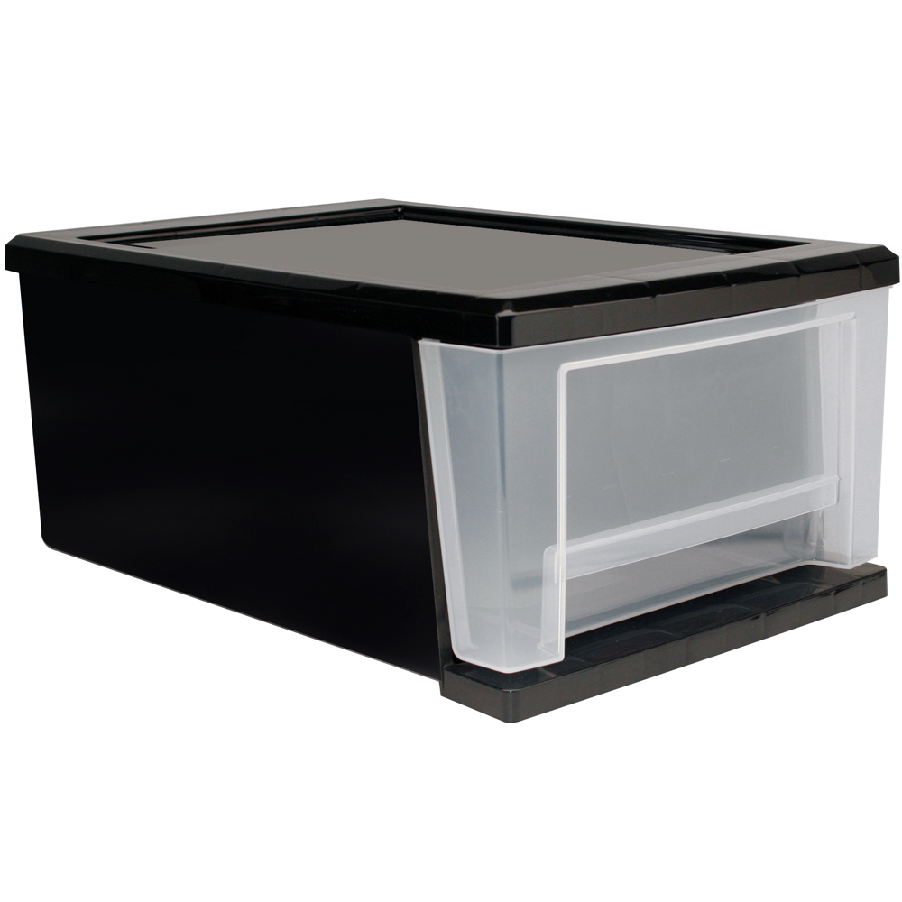 Storage Drawers Black Plastic Storage Drawers