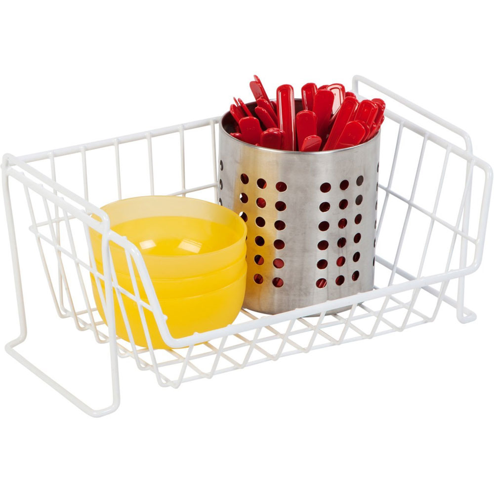 Stackable Wire Basket in Wire Baskets