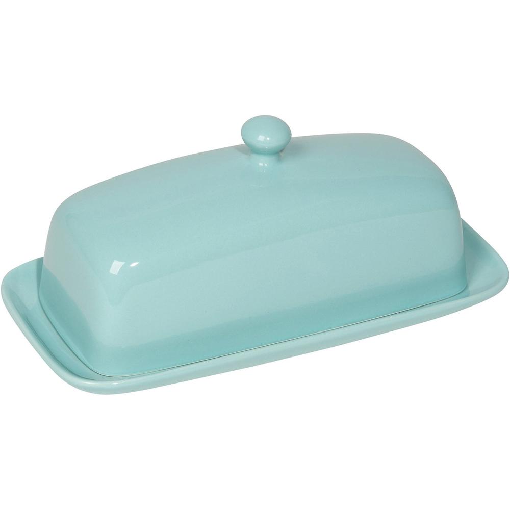 Stoneware Butter Dish In Refrigerator Storage