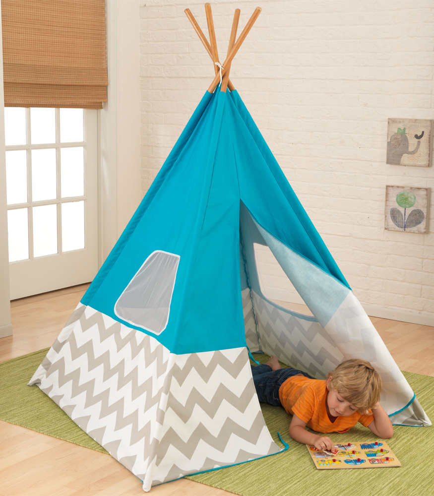 Teepee For Kids Chevron In Kids Furniture