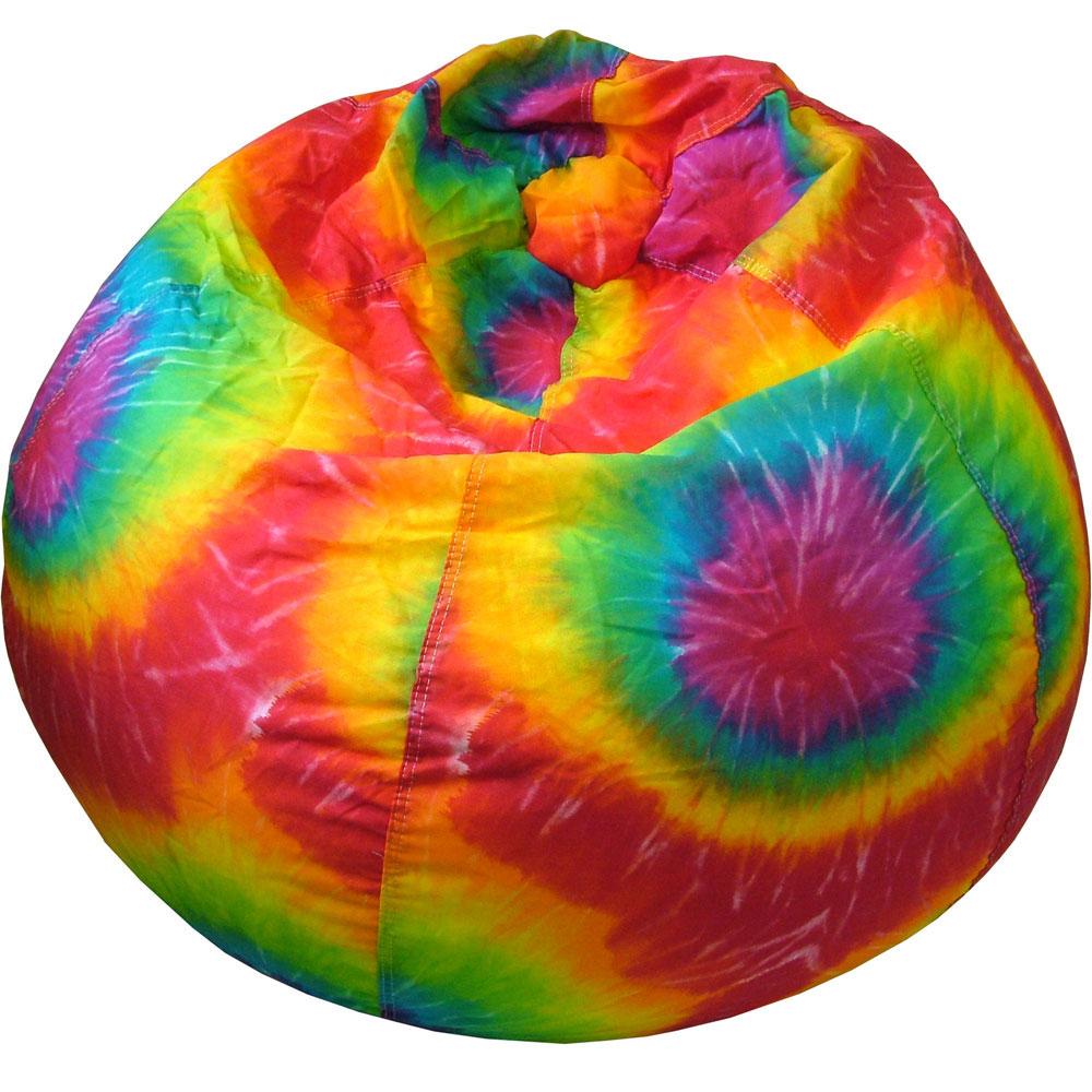 Tie Dye Bean Bag In Bean Bag Chairs