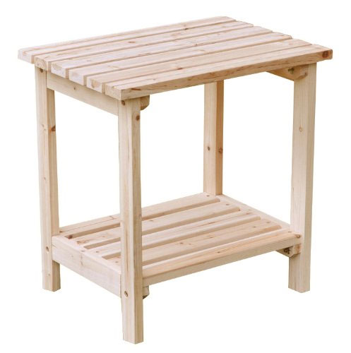 Two tier small side table in patio side tables for Outdoor patio side tables