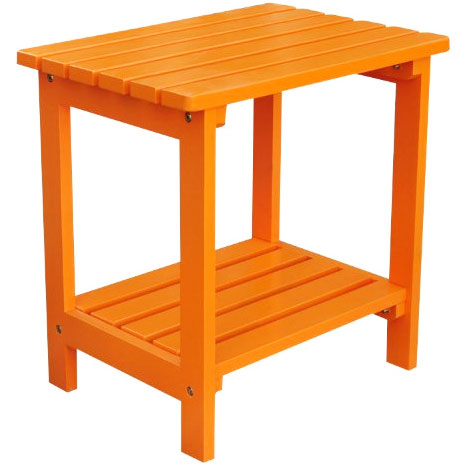 Small Side Table : Two Tier Small Side Table in Patio Side Tables