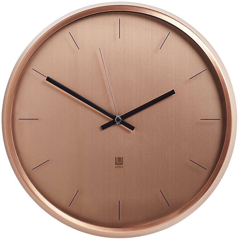 Umbra Metal Wall Clock In Wall Clocks