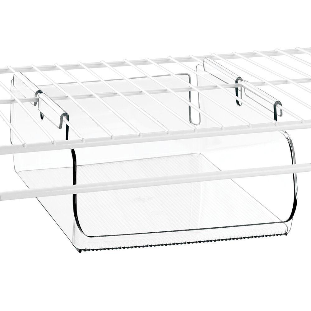 Under Shelf Storage Bin - Wire Shelving in Under Shelf Storage Racks