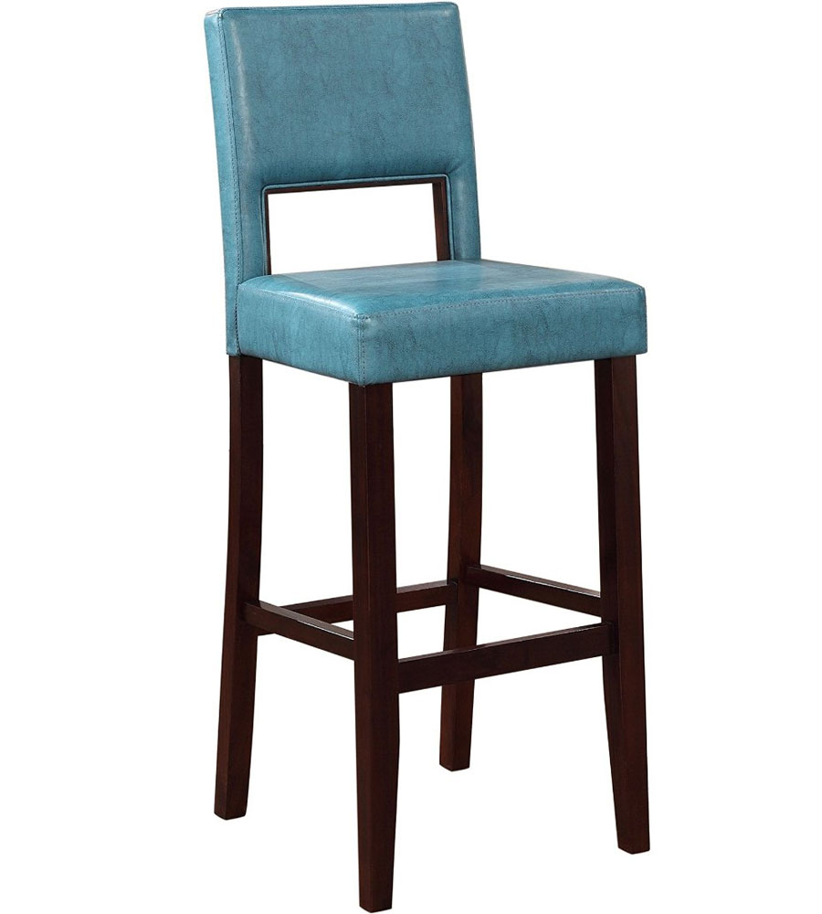 Upholstered Bar Stool in Modern Bar Stools : upholstered bar stool agean blue from www.organizeit.com size 900 x 1000 jpeg 66kB