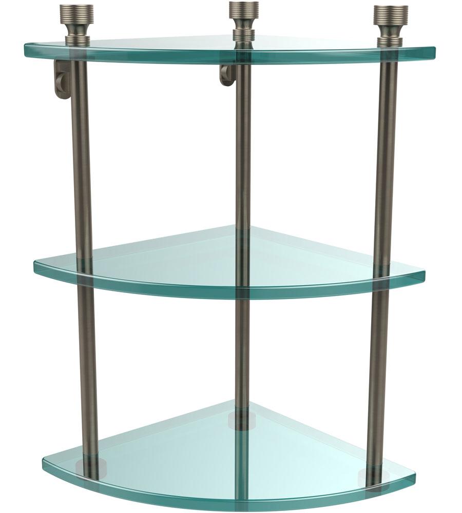 wall mounted corner shelf foxtrot in bathroom shelves. Black Bedroom Furniture Sets. Home Design Ideas