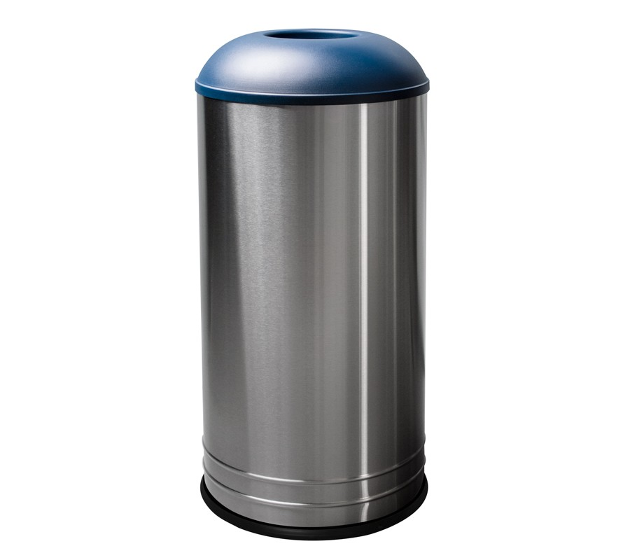 Waste receptacle stainless steel in