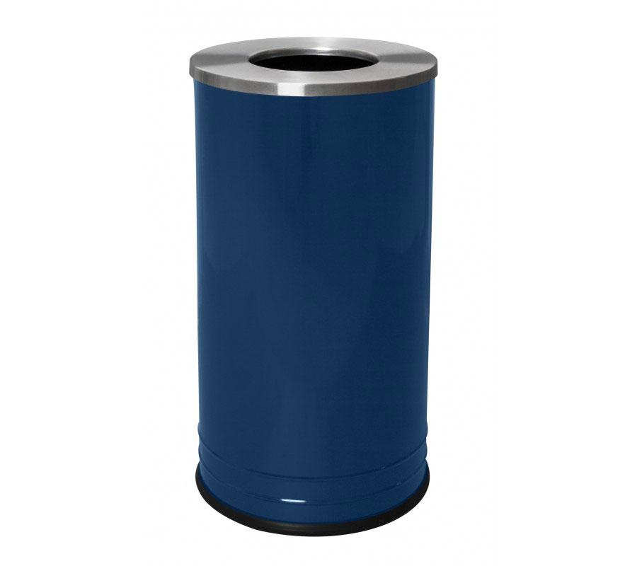 Waste Receptacle Stainless Steel Lid In Stainless Steel