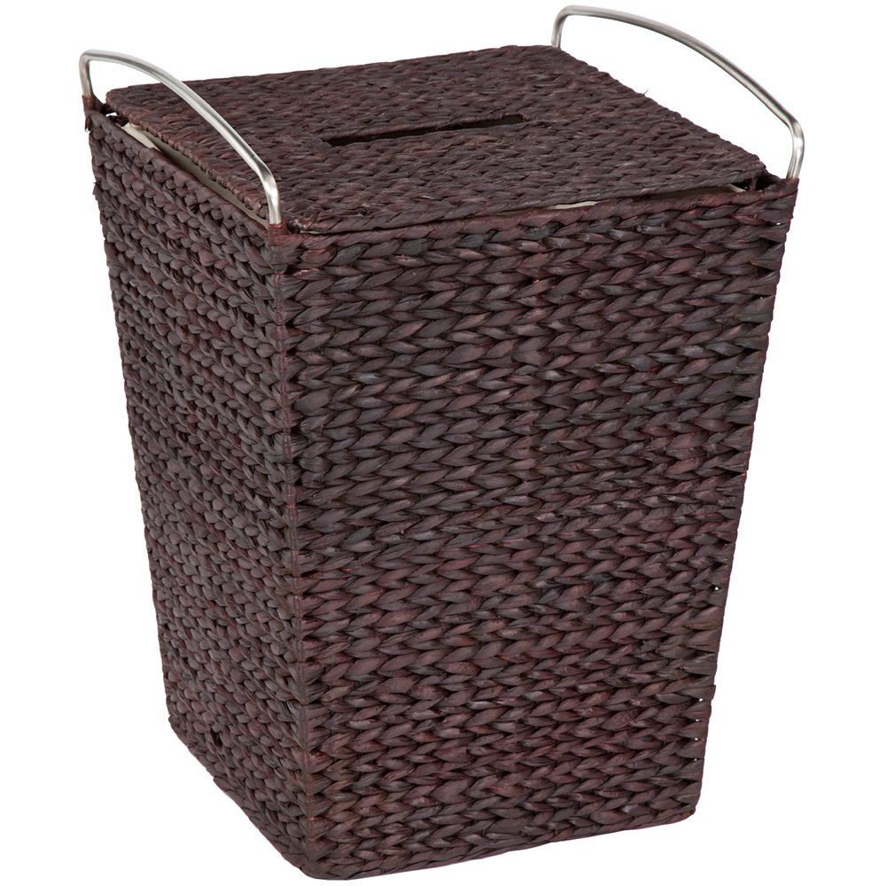 Types of laundry baskets. Keep dirty clothes in check and ready for the wash with a laundry basket. Place one in each family members' bedroom to keep dirty clothes off the floor, or sit a bin with divided sections in your bathroom to separate whites, darks, and colors each time you change clothes.