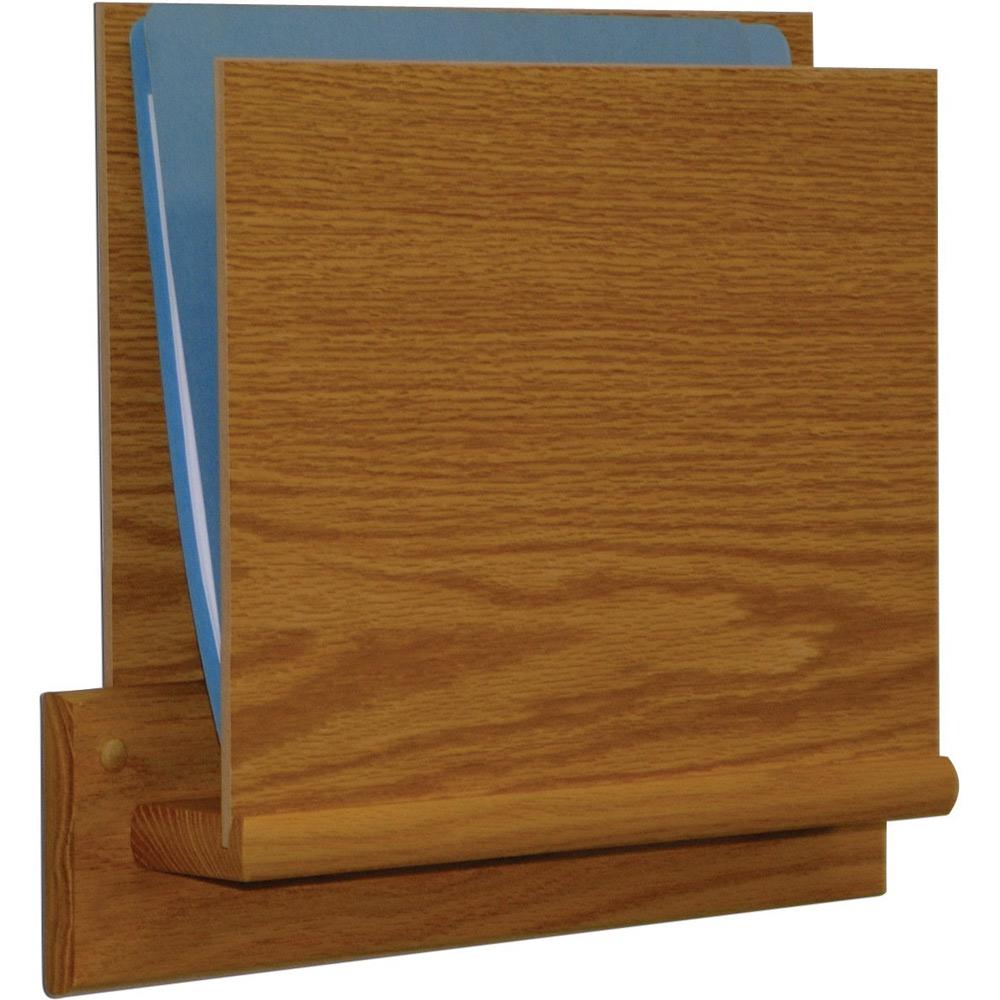Uncategorized Wooden File Holders wood file rack open ended in wall magazine racks