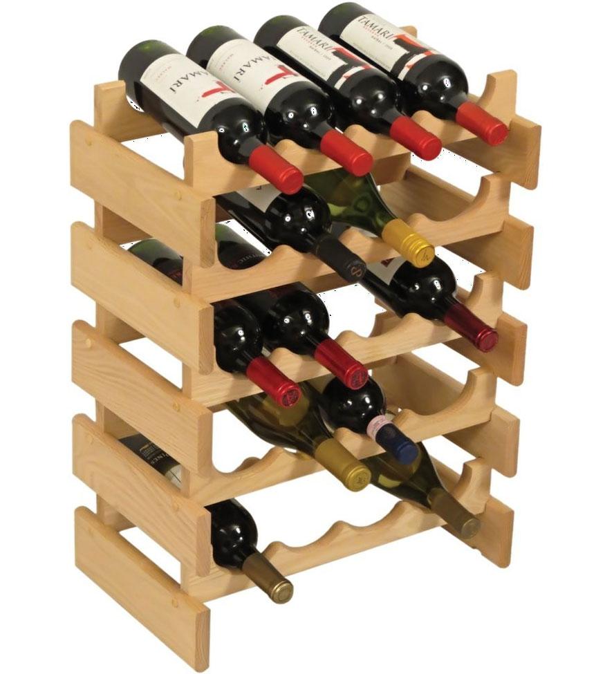 Wood Wine Racks ~ Wood wine rack bottle in racks