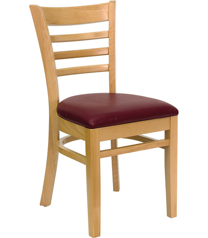 Wooden dining chair natural in dining chairs - Natural wood dining chairs ...