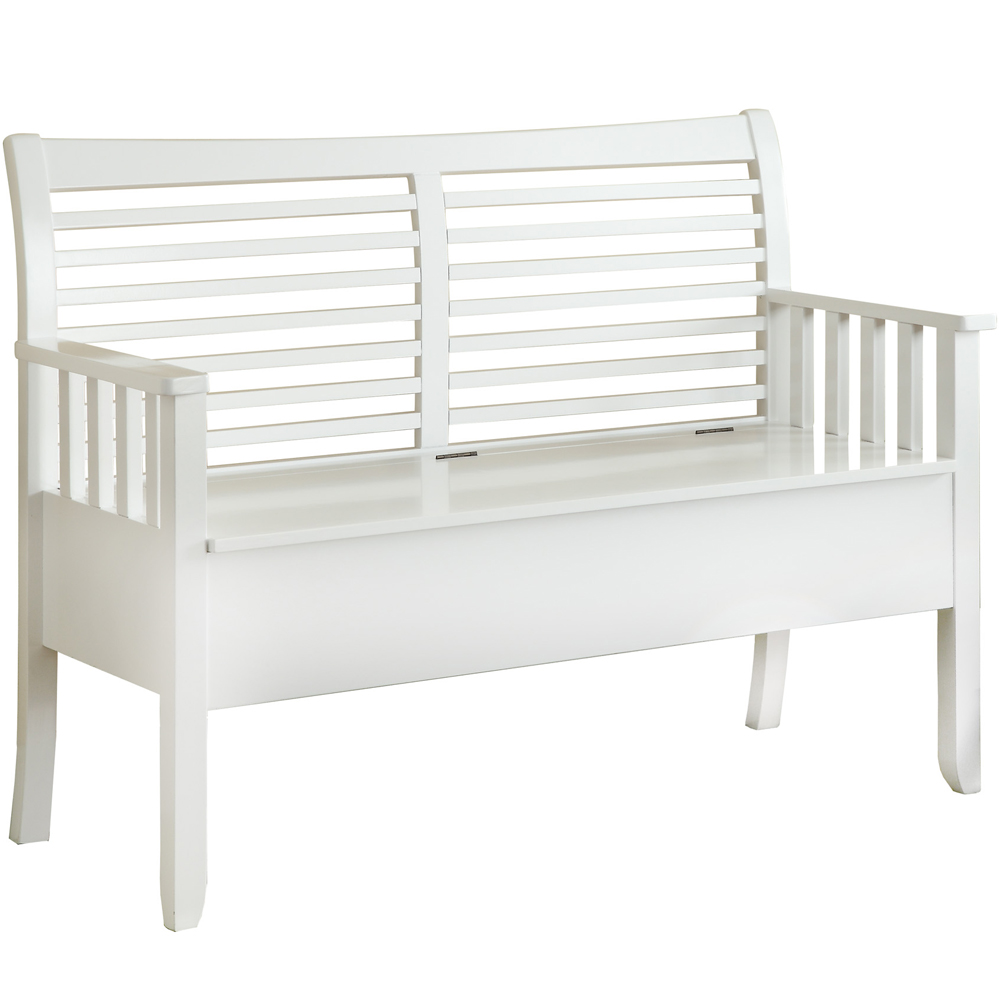 White Wood Storage Bench 28 Images White Wood Storage Bench Practical And Doubled Functional