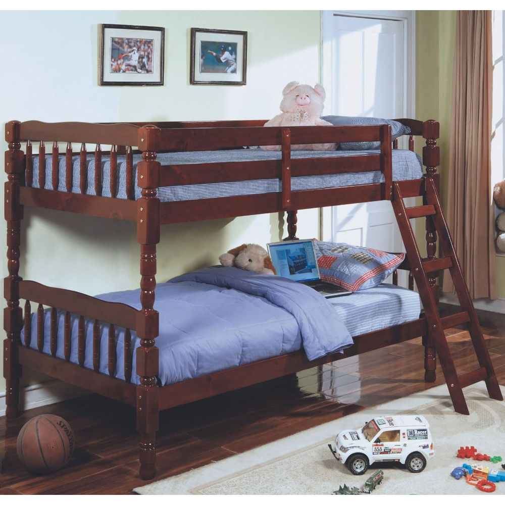 Click any image to view in high resolution for Wooden bunk beds